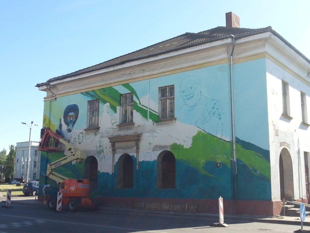 Klaipedos Pilies Dziazo festivalis grafiti 1