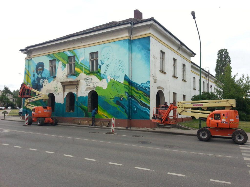 Klaipedos Pilies Dziazo festivalis grafiti 2