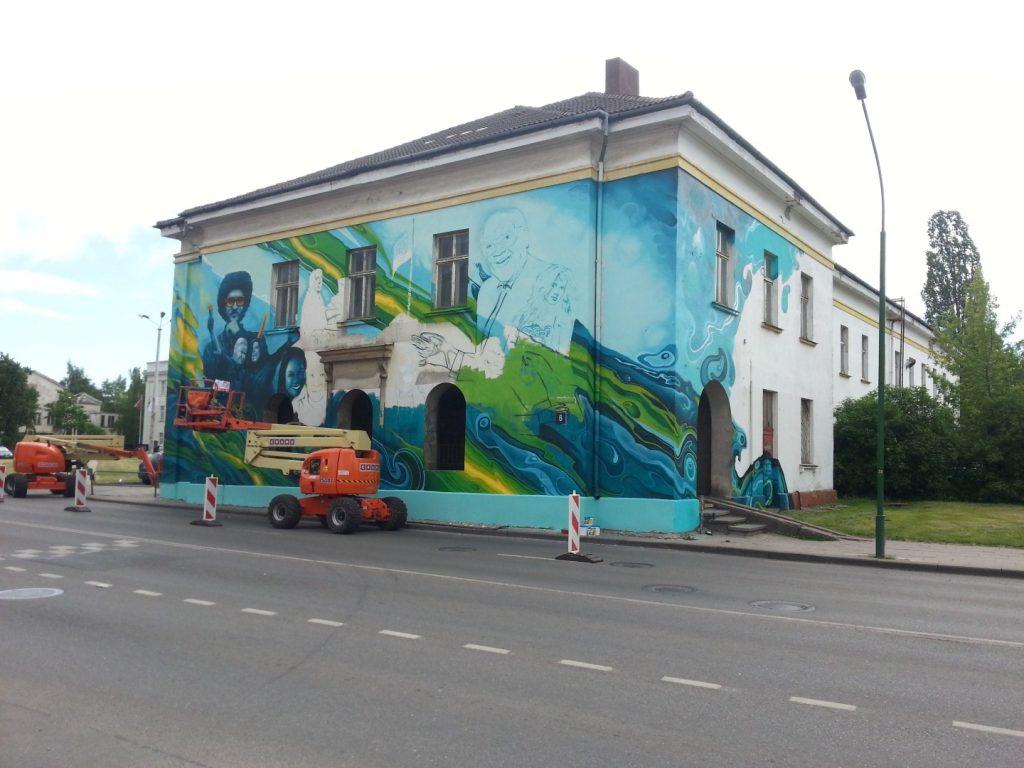 Klaipedos Pilies Dziazo festivalis grafiti 3