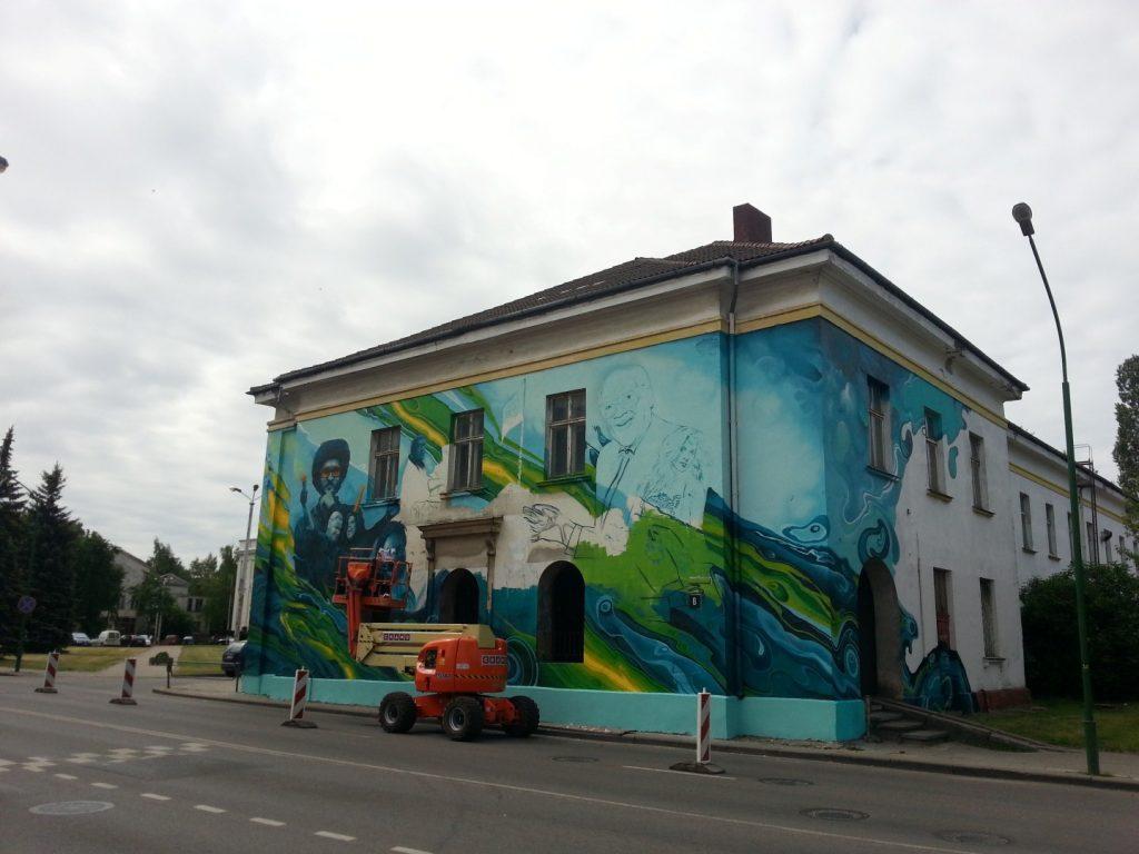 Klaipedos Pilies Dziazo festivalis grafiti 4