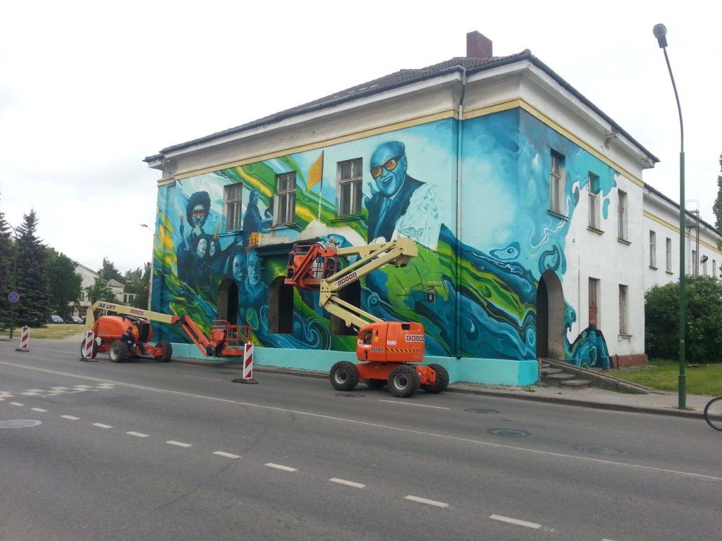 Klaipedos Pilies Dziazo festivalis grafiti 5