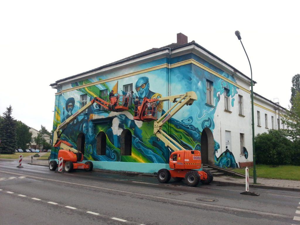 Klaipedos Pilies Dziazo festivalis grafiti 6