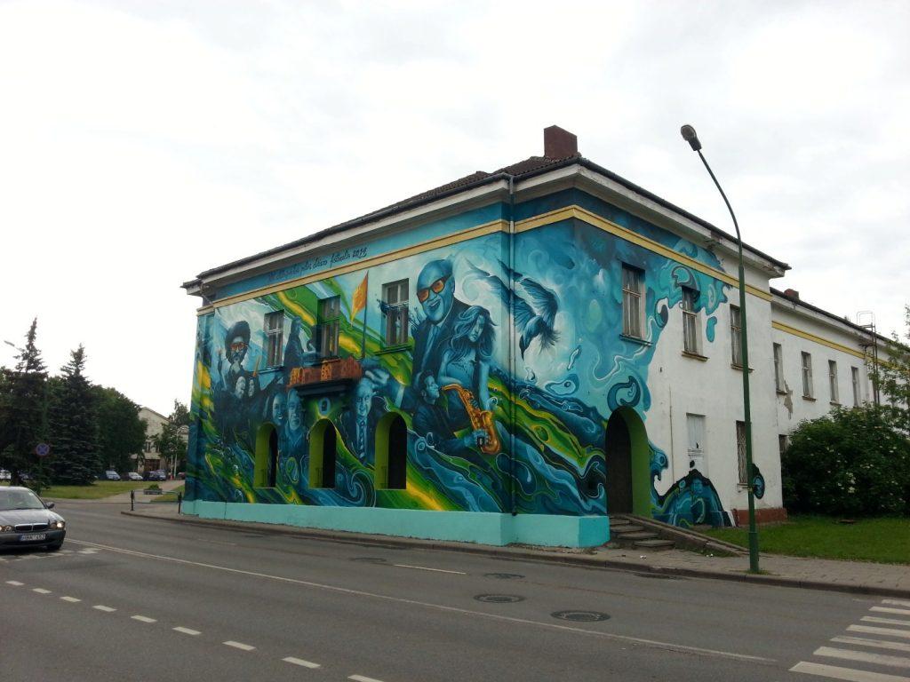 Klaipedos Pilies Dziazo festivalis grafiti 7