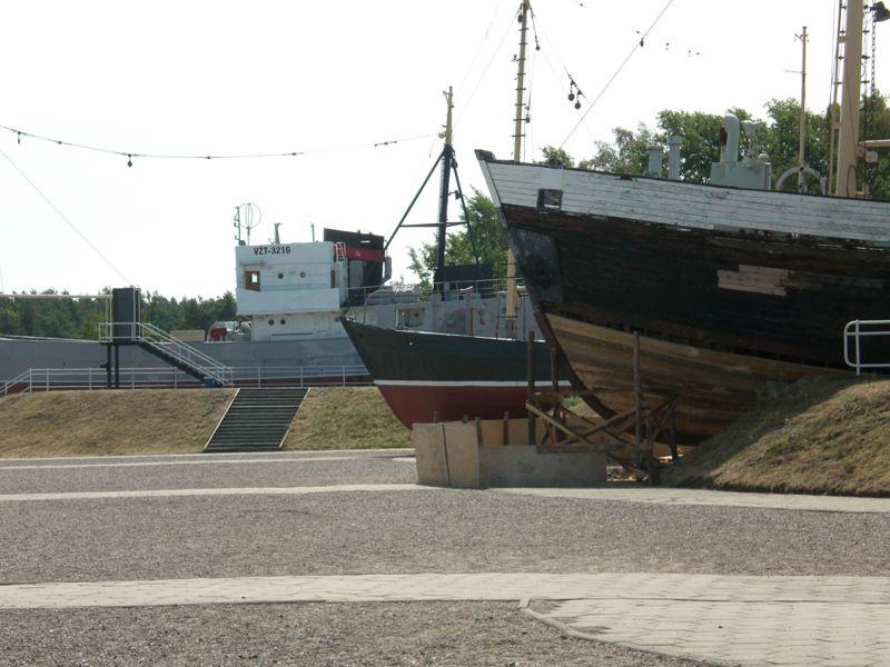 seni laivai