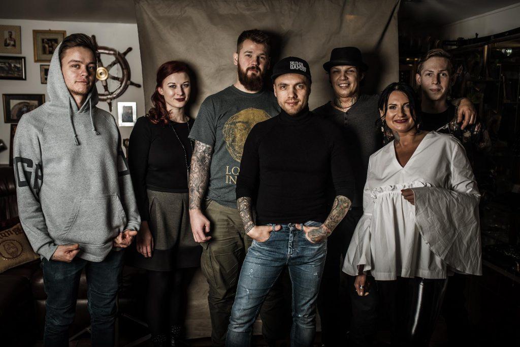 Danis Tattoo salono kolektyvas
