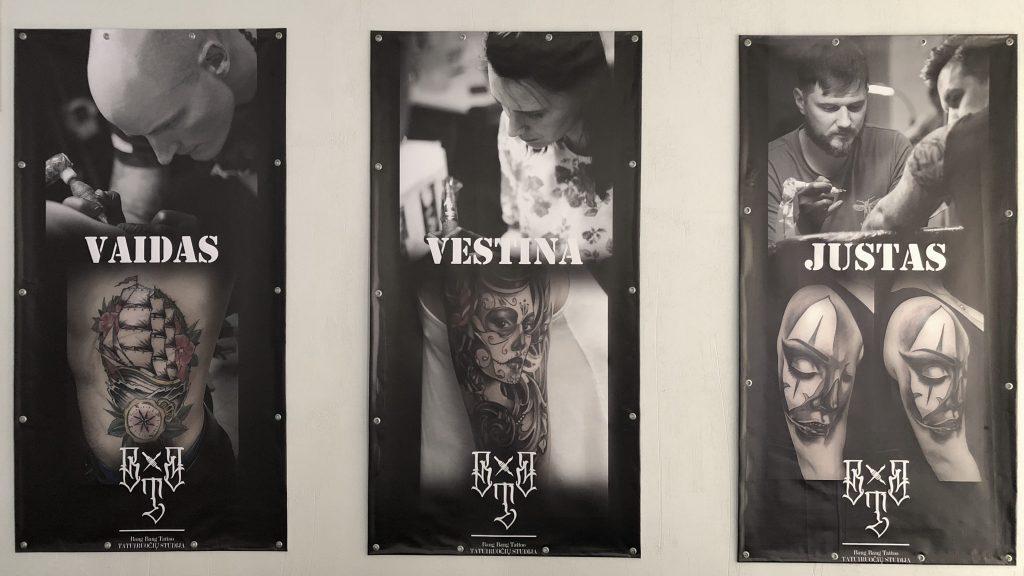 Bang Bang Tattoo meistrai