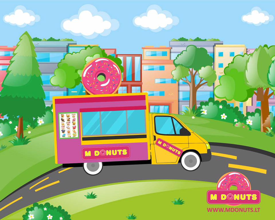 M DONUTS / Facebook nuotr.