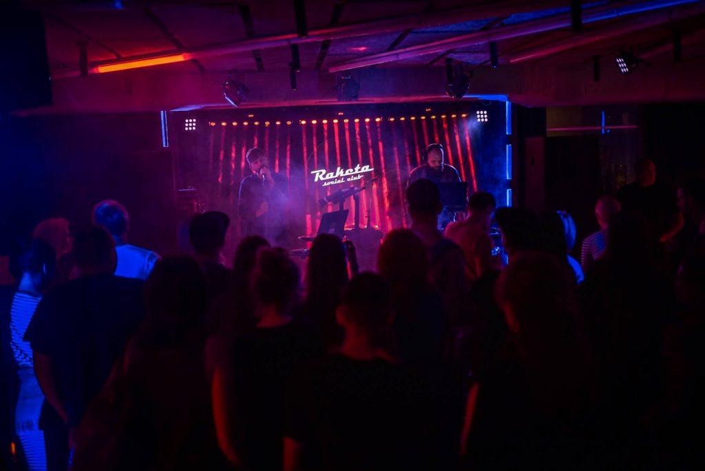 Golden Parazyth naktiniame klube / Raketos nuotr.