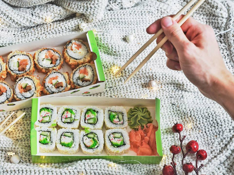 Sushi Express / Facebook nuotr.