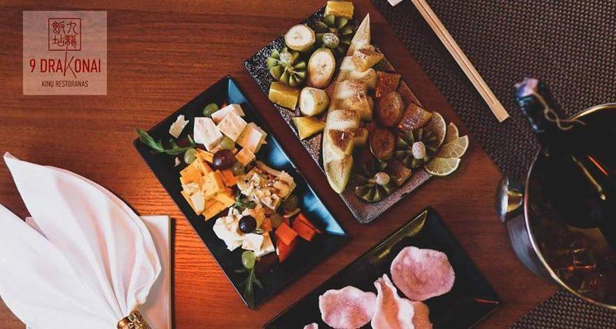 """""""9 Drakonai"""" kiniškas maistas / Facebook nuotr."""
