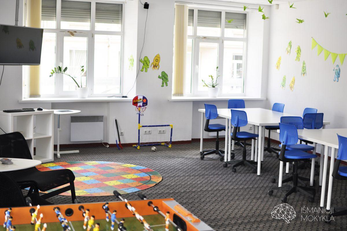 Išmanioji mokykla/Išmaniosios mokyklos nuotr. / Pramogos vaikams Klaipėdoje