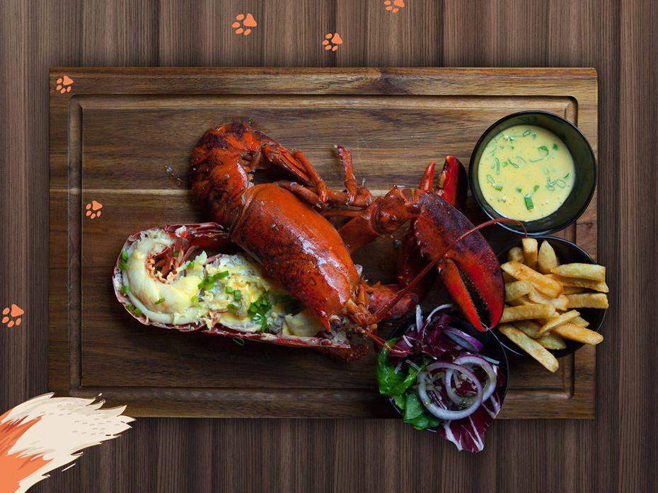"""Foxes Burgers & Lobster"" / Facebook nuotr. / Jūros gėrybės Vilniuje"