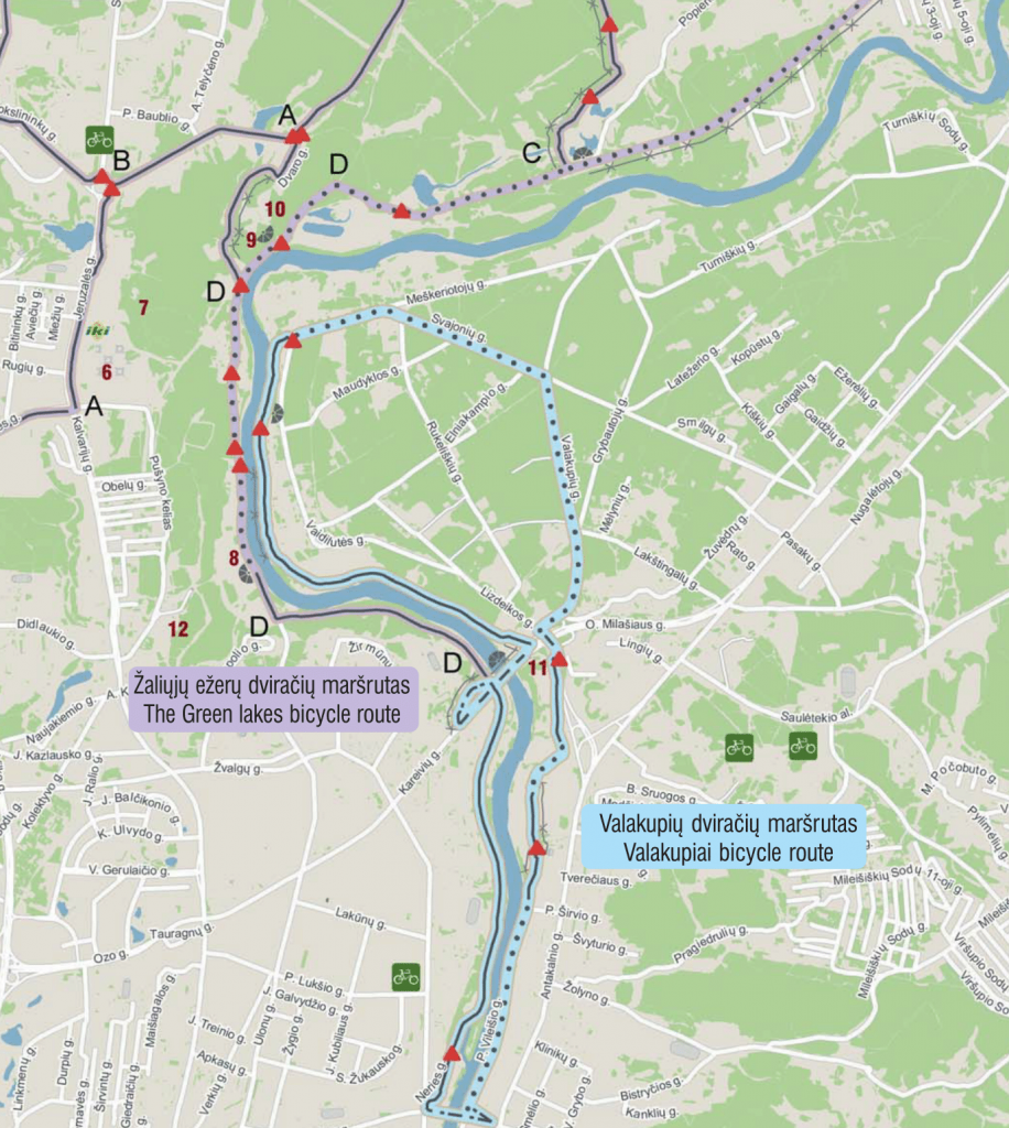 Valakupių ir Žaliųjų ežerų maršrutai / Vilnius-tourism.lt nuotr.