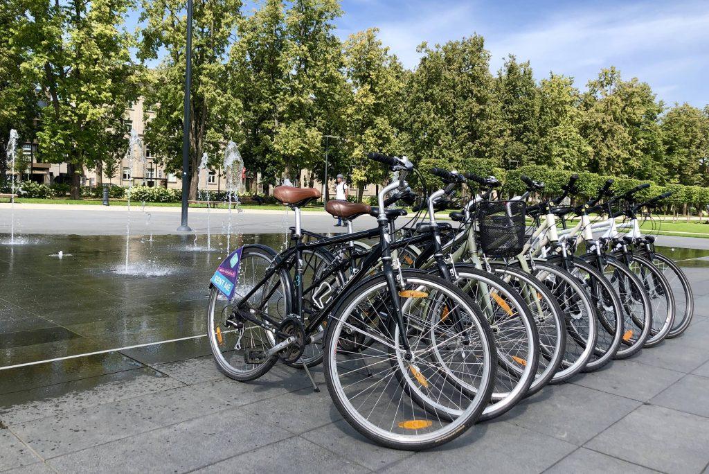 dviračių nuoma Vilniuje