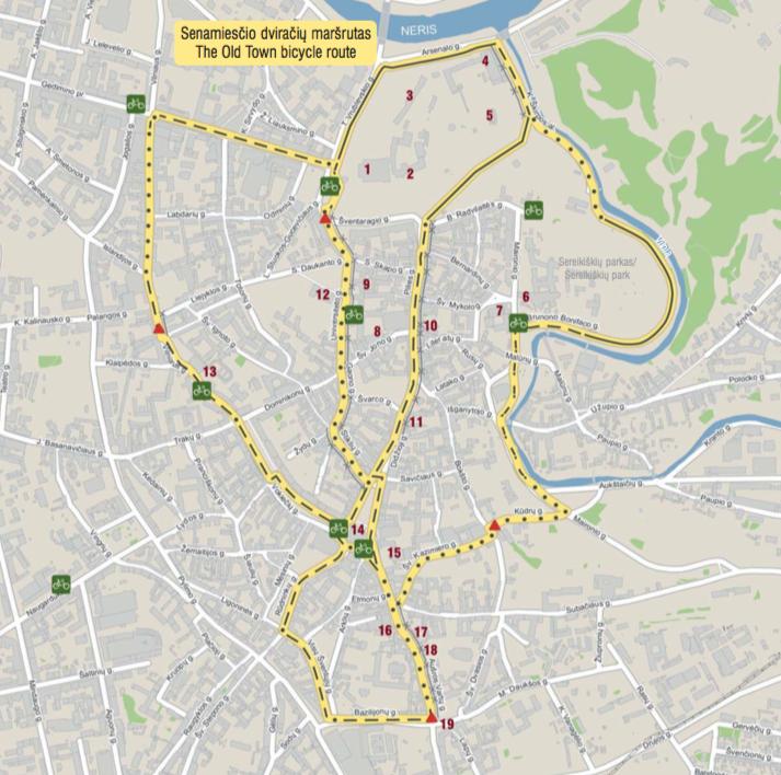 Senamiesčio maršrutas / Vilnius.lt nuotr.