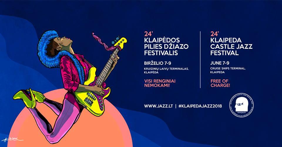 Klaipėdos pilies džiazo festivalis 2018
