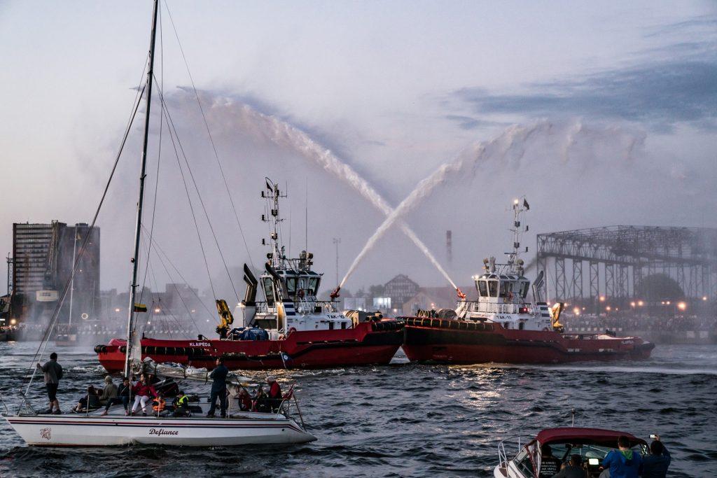 Laivų paradas / jurossvente.lt nuotr. / Ką veikti Klaipėdoje gegužės mėnesį