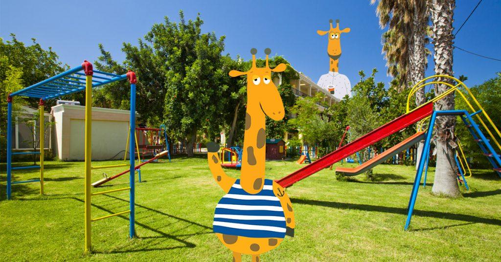 Pramogos vaikams Klaipėdoje / Miesto Žirafos