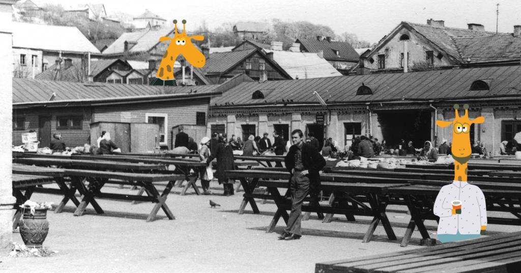 Turgūs Vilniuje / Miesto Žirafos