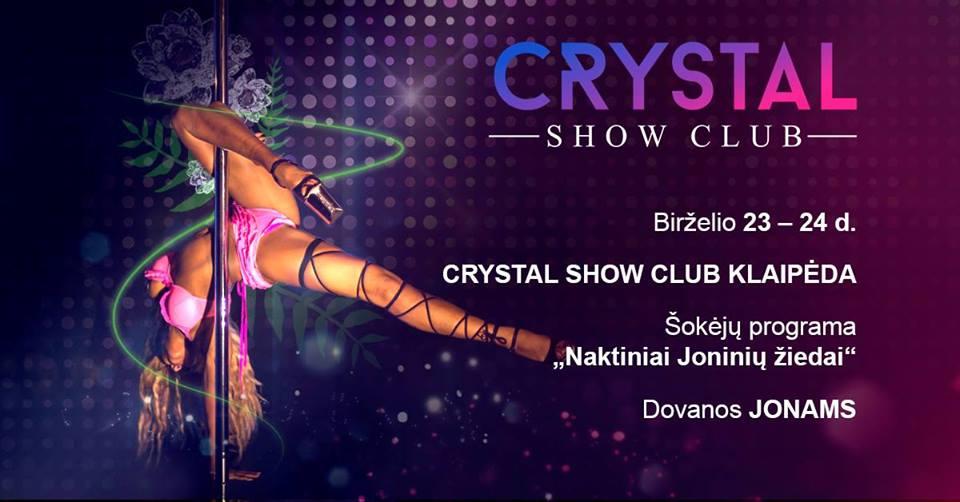 """""""Crystal show club"""" Joninės / Facebook nuotr. / Joninės Klaipėdoje"""
