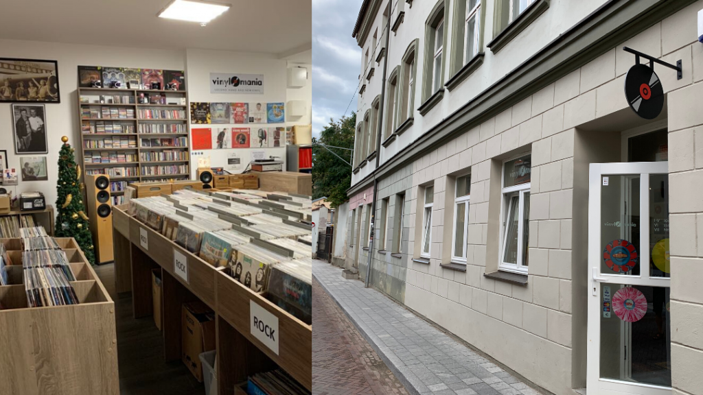 Plokštelės Vilniuje