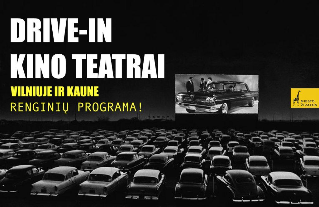 drive in kino teatras